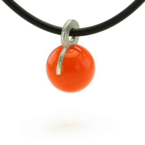 Kugelanhänger, orange