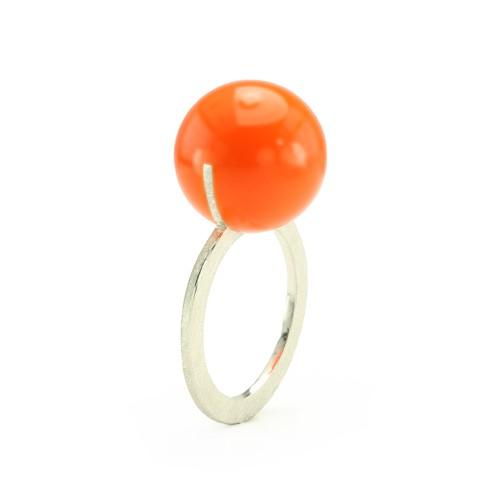 Kugelring, orange