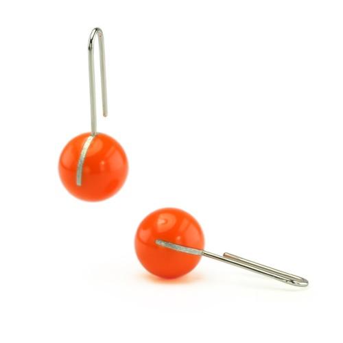 Kugelohrhänger, orange