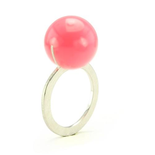 Kugelring, pink